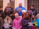 Zpívání před školou