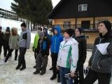 Lyžařský výcvik - 1. den