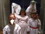 Třeťáci v Národopisném muzeu v Praze
