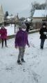 A takhle jsme si užívali sníh!