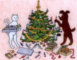 Jak pejsek s kočičkou slavili Vánoce 12.12.2018